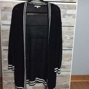 Black/White Women Cardigan American Eagle